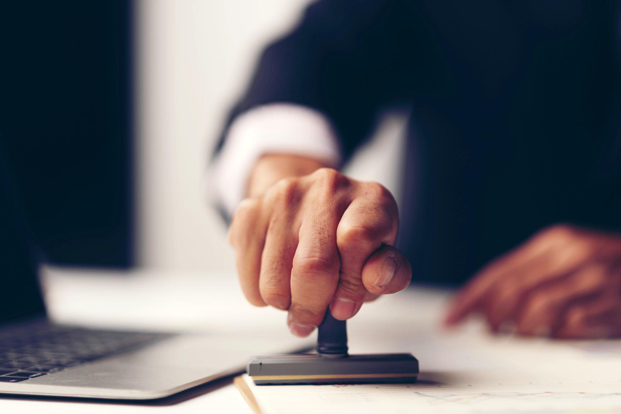 Нотариусы смогут устанавливать личность по отпечаткам пальцев